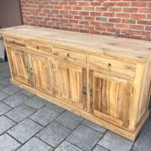 recycled teakhouten dressoir
