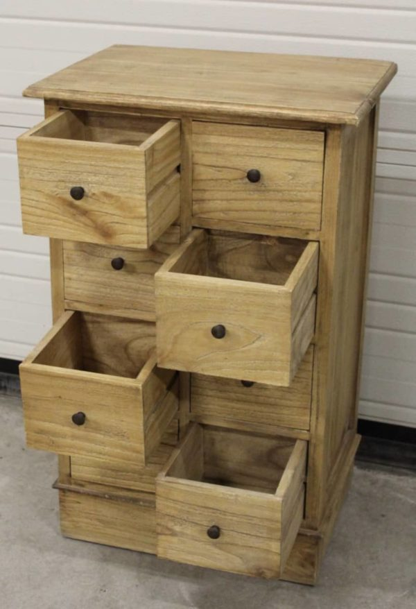 Chest 8 drawers small 94x45x88 a 250 (5)