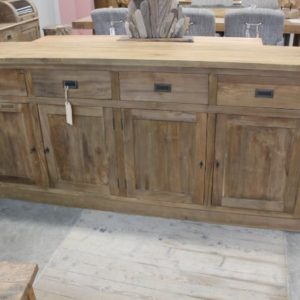 dressoir teak teakhout recycling meubel
