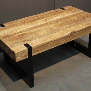 massief teak salontafel 110x60x47