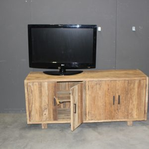tv meubel teak massief